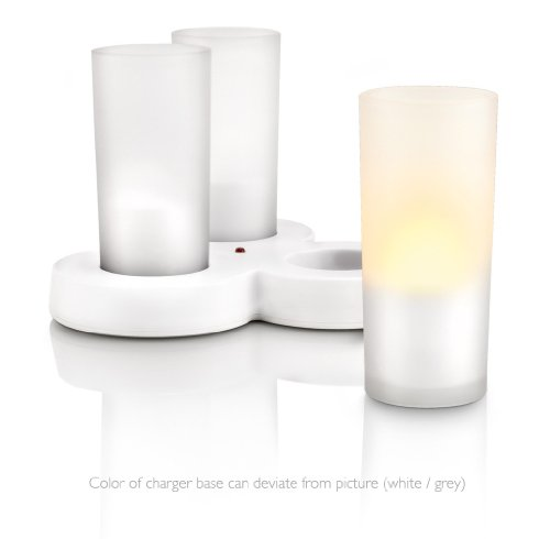 Philips-Imageo-Candlelights-Set-de-3-velas-con-tecnologa-LED-color-blanco-luz-blanca-clida-base-gris-0-3