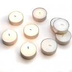 Set 100 unidades de velas de té
