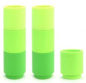 Portavelas de velas pequeñas, color verde, MOJ7VE de Cookut