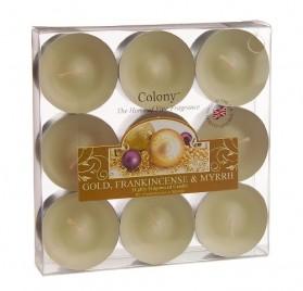 9 velas aromáticas de vainilla, caramelo y jazmín, de Wax Lyrica