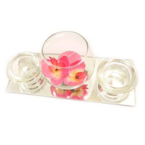 Set-velas-flotantes-Belle-De-Soieespejo-rosa-0-0