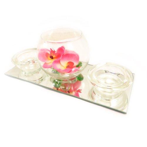 Set-velas-flotantes-Belle-De-Soieespejo-rosa-0-1