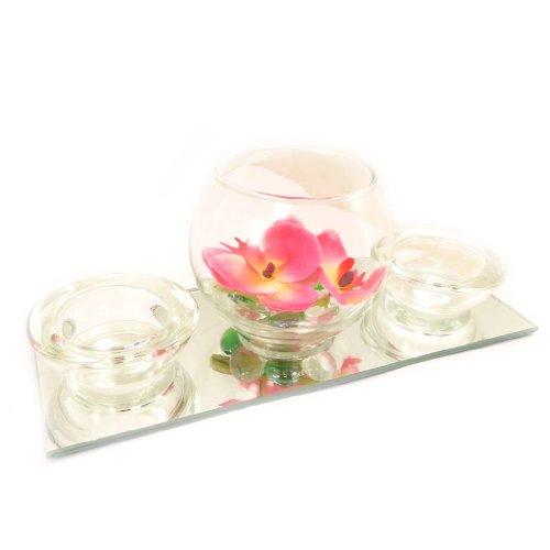 Set-velas-flotantes-Belle-De-Soieespejo-rosa-0-2
