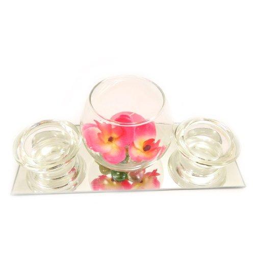 Set-velas-flotantes-Belle-De-Soieespejo-rosa-0-3