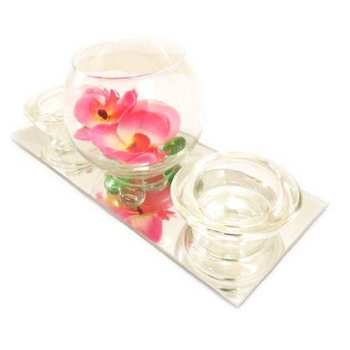Set-velas-flotantes-Belle-De-Soieespejo-rosa-0-5