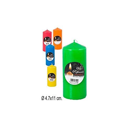 Vela Anti-Tabaco de Colores de Velas Lumar