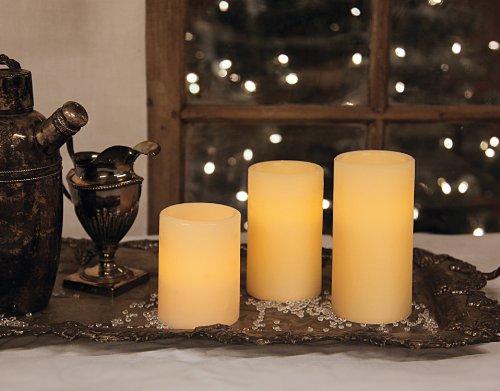 Best-Season-066-35-Juego-de-lmparas-LED-con-forma-de-vela-3-piezas-flameante-0-1