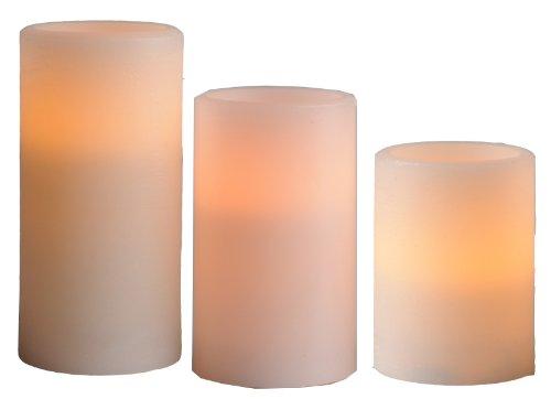 Best-Season-066-35-Juego-de-lmparas-LED-con-forma-de-vela-3-piezas-flameante-0