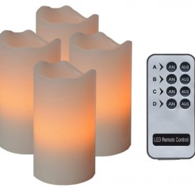 Set de velas LED con control a distancia marca Best Season