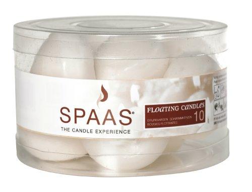 Velas flotante blancas SPAAS de Ivyline