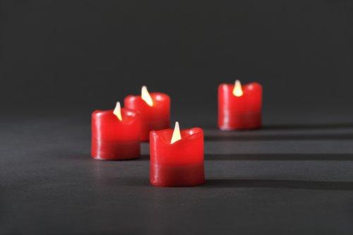 Konstsmide-1977-550-Juego-de-velas-sin-llama-con-luces-LED-cera-autntica-4-unidades-4-diodos-blancos-incluye-interruptor-y-4-pilas-CR-3-V-color-rojo-0-0