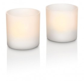 Juego de 2 velas decorativas LED Philips Tealights