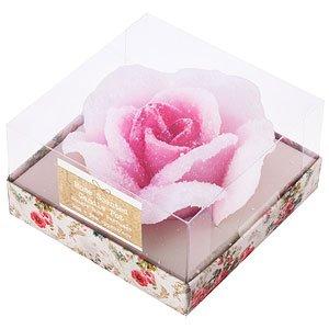 Vela flotante, diseño de rosa