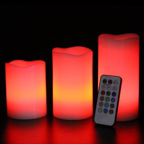 Frostfire-Mooncandles-6014-Velas-decorativas-con-luz-olor-a-vainilla-con-mando-3-unidades-de-10-13-y-15-cm-0-1