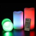 Frostfire-Mooncandles-6014-Velas-decorativas-con-luz-olor-a-vainilla-con-mando-3-unidades-de-10-13-y-15-cm-0-2
