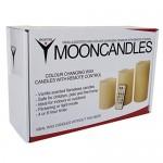 Frostfire-Mooncandles-6014-Velas-decorativas-con-luz-olor-a-vainilla-con-mando-3-unidades-de-10-13-y-15-cm-0-4