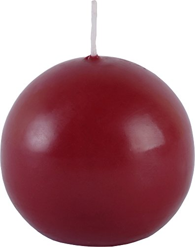 Mller-Kerzen-2600006047-Velas-redondas-20-unidades-4-paquetes-de-5-unidades-color-rojo-0-0