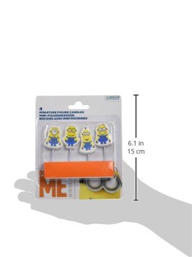 Amscan-Internacional-Minions-mini-figuras-Velas-0-0