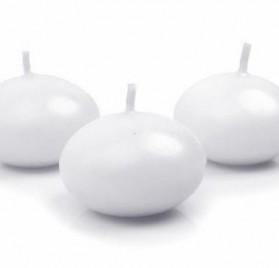 Pack de 50 velas flotantes blancas de PolysGems