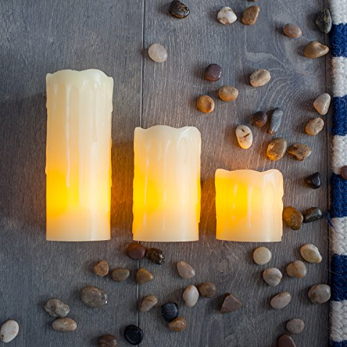 Conjunto-de-3-velas-de-LED-de-cera-natural-en-bandeja-decorativa-redonda-de-Lights4fun-0-3