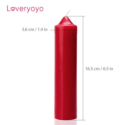 Loveryoyo-Velas-criognico-para-SM-equipo-divertido-Rojo-0-4