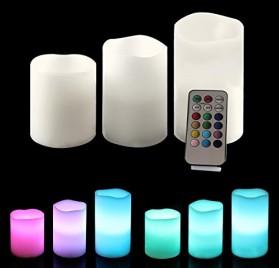Ohuhu--3-lleno-vela-LED-con-Control-Remoto-de-18-Teclas-Blanca-0-0