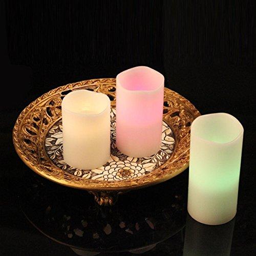 Ohuhu–3-lleno-vela-LED-con-Control-Remoto-de-18-Teclas-Blanca-0-3