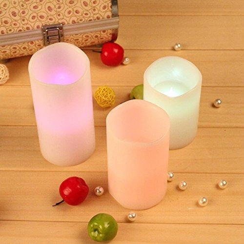 Ohuhu–3-lleno-vela-LED-con-Control-Remoto-de-18-Teclas-Blanca-0-4