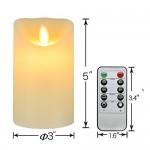 Regalo-para-el-San-Valentn-Vela-Decorativa-Elctrica-Vela-de-Cera-Real-sin-Llama-del-LED-con-Temporizador-y-Mando-a-DistanciaControl-Remoto-Vela-de-Pilar-Clsica-Dimetro-3-pulgadas-Altura-5-pulgadas-0-1