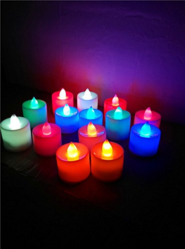 Rightwell-24-Pcs-LED-vela-Electrnica-Multi-Propsito-Mini-vela-Cambiante-del-Color-de-la-vela-Incluye-Batera-multicolor-0-2