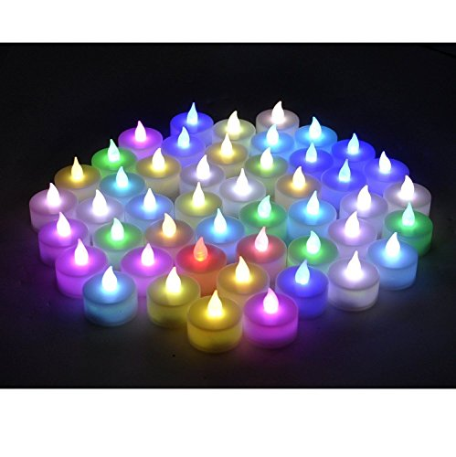Rightwell-24-Pcs-LED-vela-Electrnica-Multi-Propsito-Mini-vela-Cambiante-del-Color-de-la-vela-Incluye-Batera-multicolor-0-4