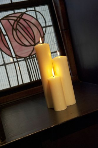 Shearer-Candles-Cirio-de-iglesia-pequeo-cera-de-abeja-15-x-7-cm-aroma-de-miel-dulce-color-blanco-0-1