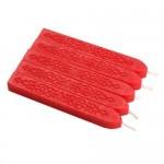 Tenflyer-Vela-Colorido-Cuadrado-Lacre-palillo-de-cera-con-Wick-Rojo-0-0