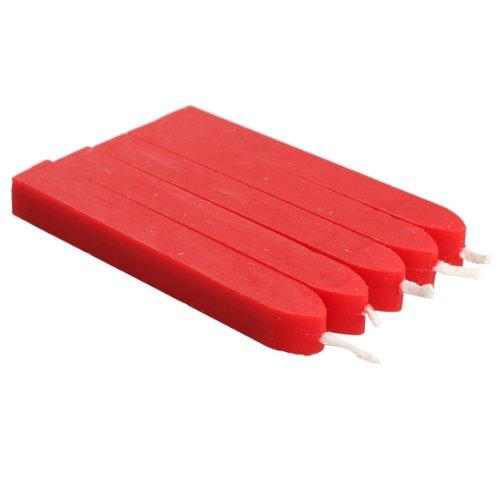 Tenflyer-Vela-Colorido-Cuadrado-Lacre-palillo-de-cera-con-Wick-Rojo-0-2