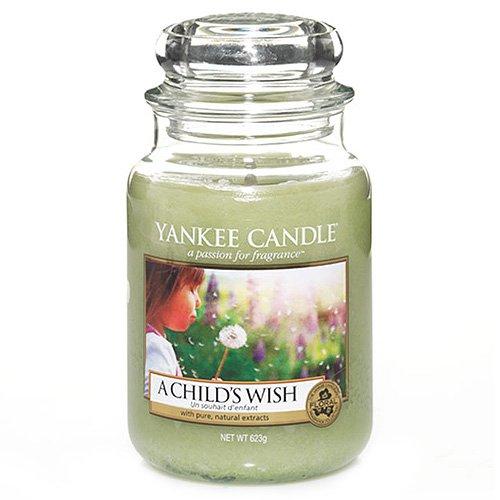 Vela aromática Yankee Candle en tarro de cristal