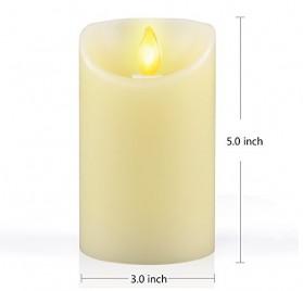 iDOO-Aterciopelada-Vainilla-Perfumado-llama-temblorosa-LED-Vela-125-cm-0-0
