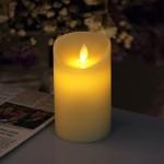 Vela LED de 12,5 cm con aroma a vainilla iDOO