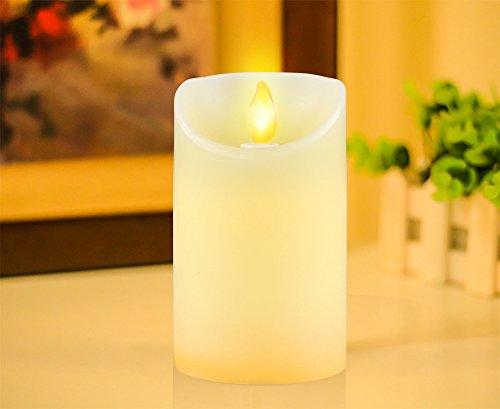 iDOO-Aterciopelada-Vainilla-Perfumado-llama-temblorosa-LED-Vela-125-cm-0-2