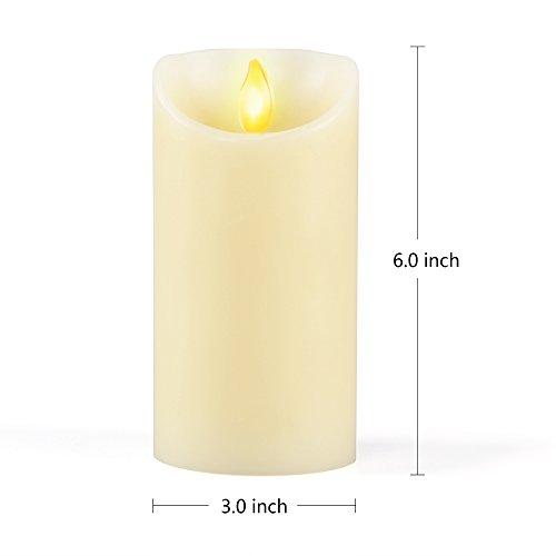 iDOO-Aterciopelada-Vainilla-Perfumado-llama-temblorosa-LED-Vela-15-cm-0-0