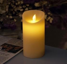 Vela LED de 15 cm con aroma a vainilla iDOO