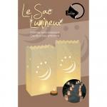 Set de 8 bolsas de papel portavelas de Sublime