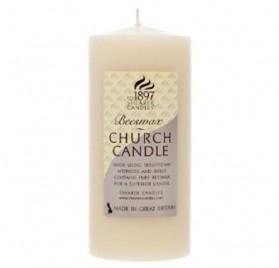 Vela de cera de abeja Church Candle con olor a miel